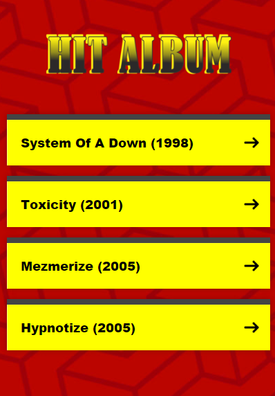 System of A Down Lyrics - Android Apps on Google Play