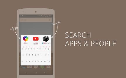 AppDialer T9 app/people search Screenshot 1