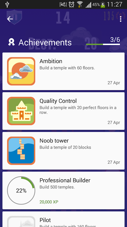 Tower Builder HD 2017- screenshot