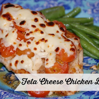 Chicken Breast Feta Cheese Recipes