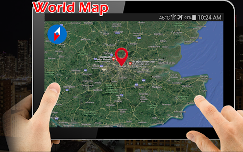 mapa srbije satelit online Earth Map Live GPS: Street View Navigation Transit   Apps on  mapa srbije satelit online