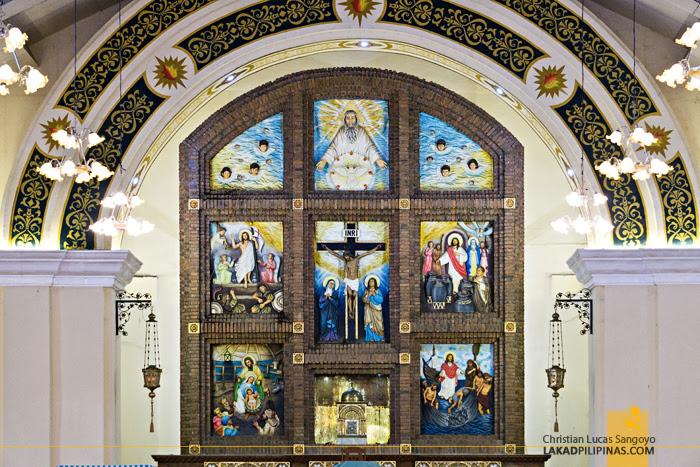 Sta. Filomena Church Alcala Retablo