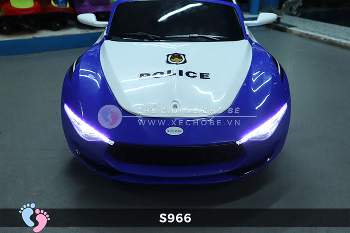 Xe ô tô điện cho bé Police XYS-966 18
