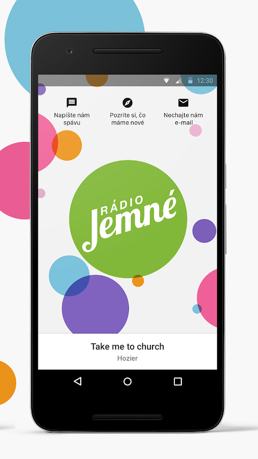 Rádio Jemné- screenshot