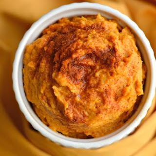 Sweet Potato Hummus with Peanut Butter