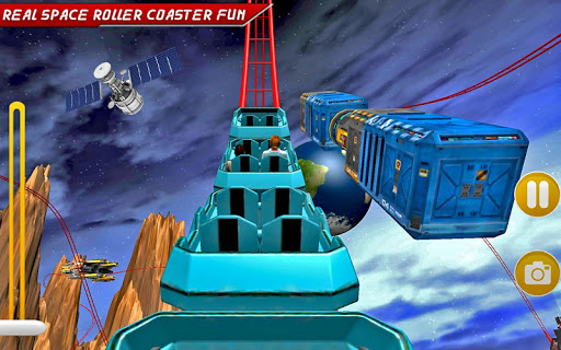 Go Real Space Roller Coaster
