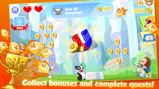 Catch the Cat: Run and Rescue- screenshot thumbnail