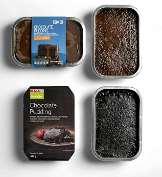 Chocolate pudding from Pick n Pay and SPAR.
