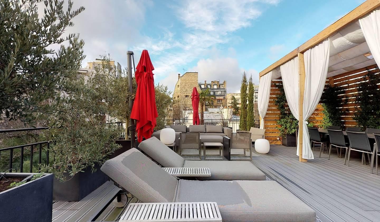 Appartement contemporain avec terrasse Paris 16ème