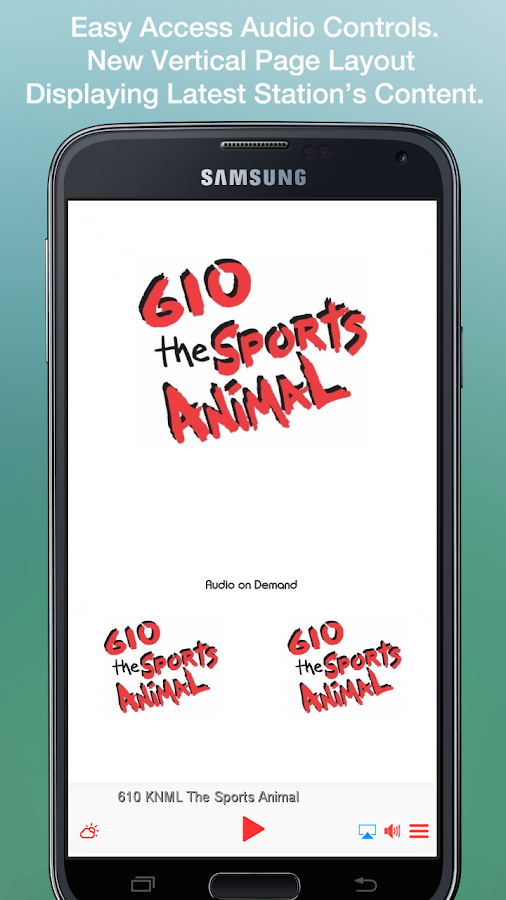 610 KNML The Sports Animal- screenshot