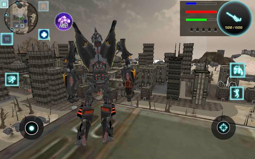 لقطات من Iron Bot 1