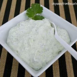 Low Carb Cucumber and Cilantro Dip Recipe