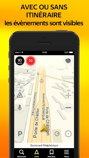 Yandex.Navi - Île-de-France screenshot 4