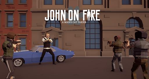John on Fire  A Man's Cat Taken (Top Down Shooter) cheat screenshots 1