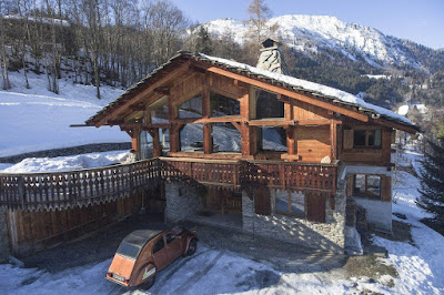A Gorgeous Traditional Chalet Castor