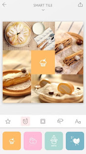 April – Camera360 cute Layout and Template 2