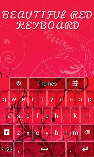 Beautiful Red Keyboard