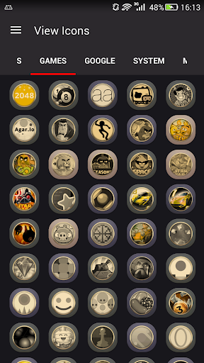 Gold Icons Pro -Cool Icon Pack  screenshots 7