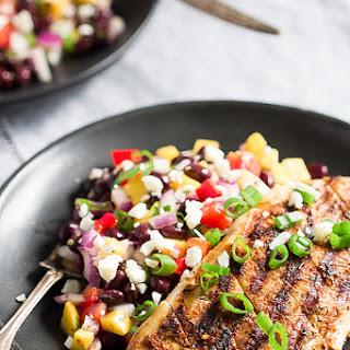 Cajun Grilled Chicken with Black Bean Mango Salad