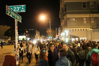 Photo: Oakland Art Murmur, March 2012. Photo on p. 62 of Oakland in Popular Memory. Photo by Joe Sciarrillo.