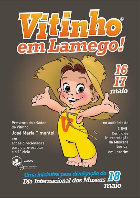 """Dia Internacional dos Museus celebrado com criador do """"Vitinho"""""""