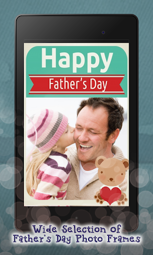 Fathers Day Photo Frame Editor