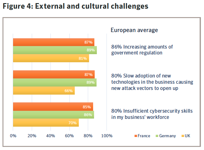 Figure 4: External and cultural challenges. Source: Symantec