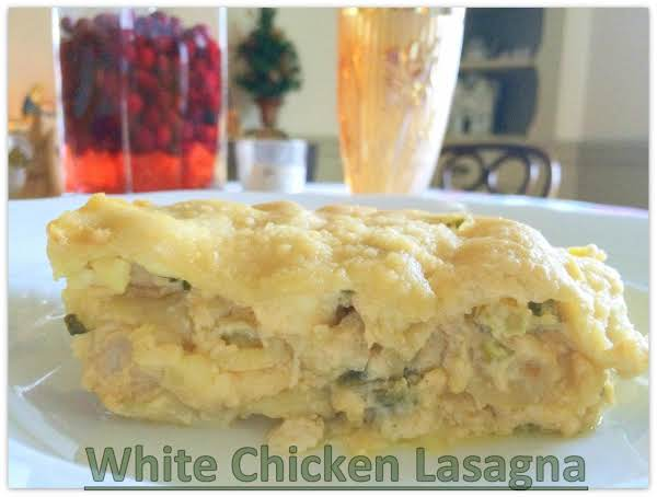 White Chicken Lasagna Recipe