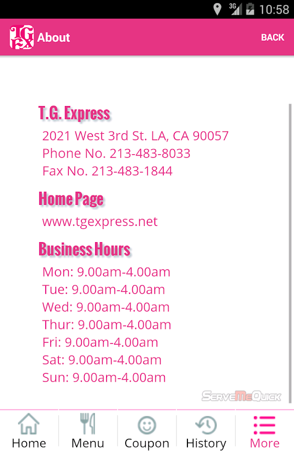 T.G. Express- screenshot