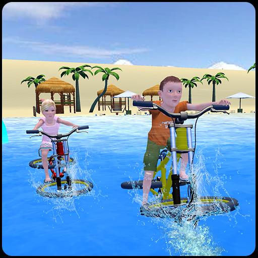 Kids Bicycle Water Surfer Racing