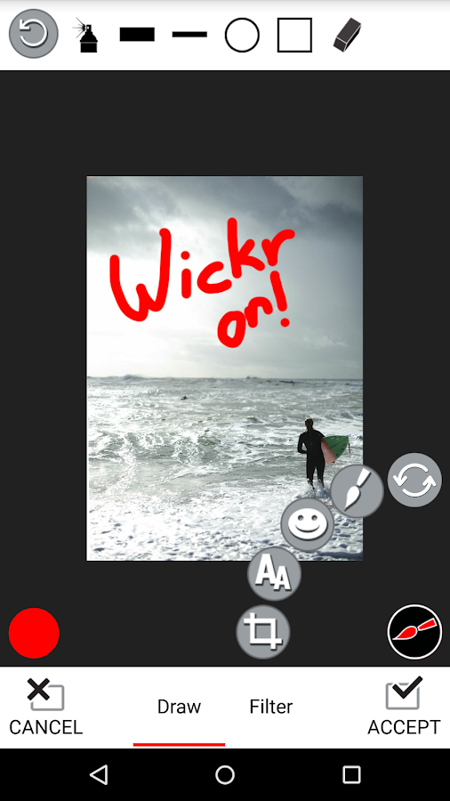 Wickr-Top Secret Messenger- screenshot