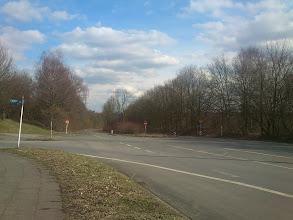 Photo: Crossing Universitätsstraße/Meitnerweg, Dortmund