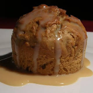 Sticky Fig Pudding (Egg Free) With Butterscotch Sauce.