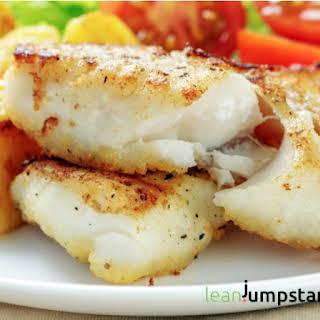 Clean Eating Cod Fish.