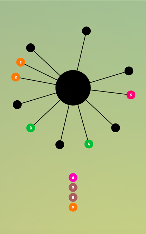 Impossible Twisty Dots: Colors- screenshot