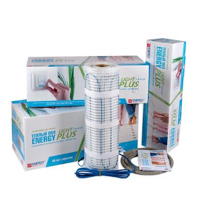 Нагревательные маты Energy Теплый пол energy light plus 2.5-375 (LIGHT PLUS 2.5-375)