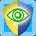 Eye protector icon