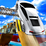 Car Stunt Impossible Track Games Icon