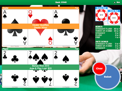 Poker with 3 Cards- screenshot thumbnail