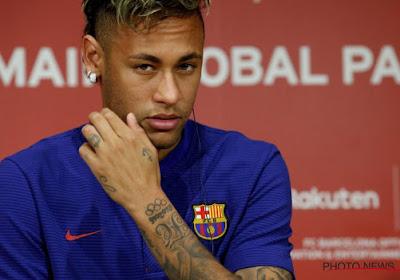 Neymar gaat over de rooie op training en belaagt kersverse ploegmaat
