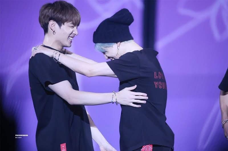 Jimin and Jungkook Jikook moments
