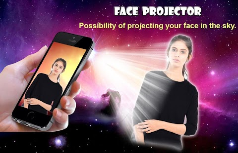 Face Video Projector Simulator - náhled