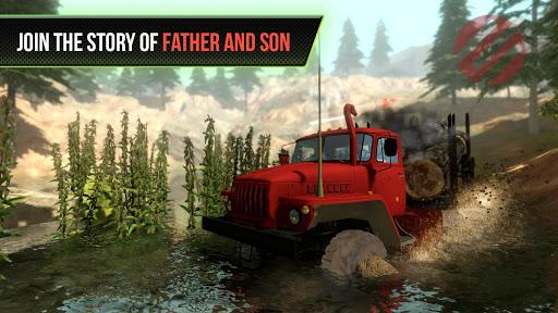 Truck Simulator OffRoad 4 2.4 screenshots 1