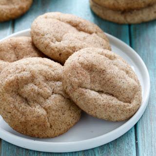 Egg Free Snickerdoodle Cookies.