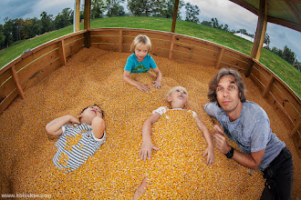 Photo: Lost in Corn From our last trip to a nearest farm. This kind of playground is what you can find there, along with lots of other crazy stuff :-) Like the style of the shot? Dig here for more, including a post-production tips&tricks: ->http://www.photigy.com/people/