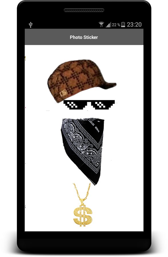 Thug life photo sticker editor android apps on google play thug life photo sticker editor screenshot voltagebd Images