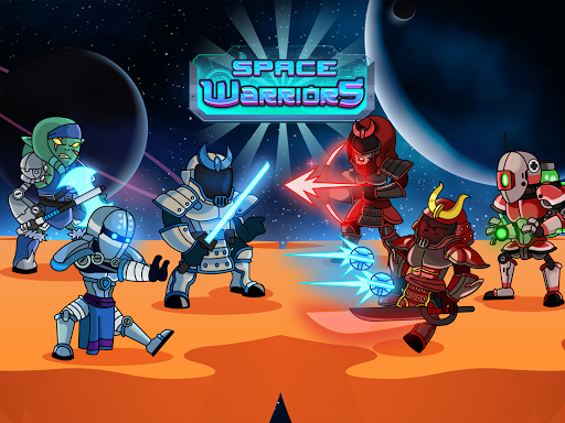 Space Warriors - Sci-fi Strategy Combat Game 1.0 screenshots 8