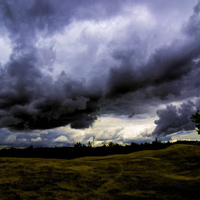 Shades by Glen Sande - Landscapes Cloud Formations ( enger golf course, outdoors, summer, duluth mn, storm clouds, landscapes, twin ponds, glen sande,  )