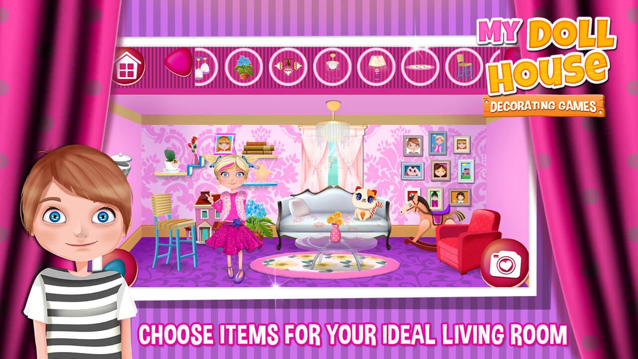 my doll house decorating games - android apps on google play