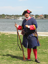 Photo: A musket demonstration